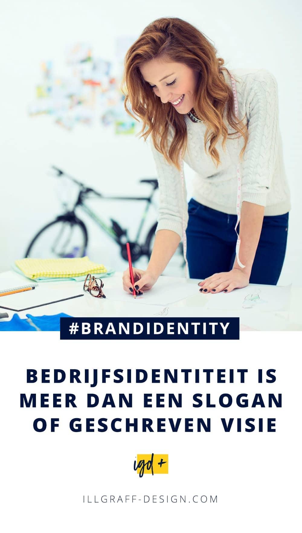 Bedrijfsidentiteit is meer dan een slogan of geschreven visie