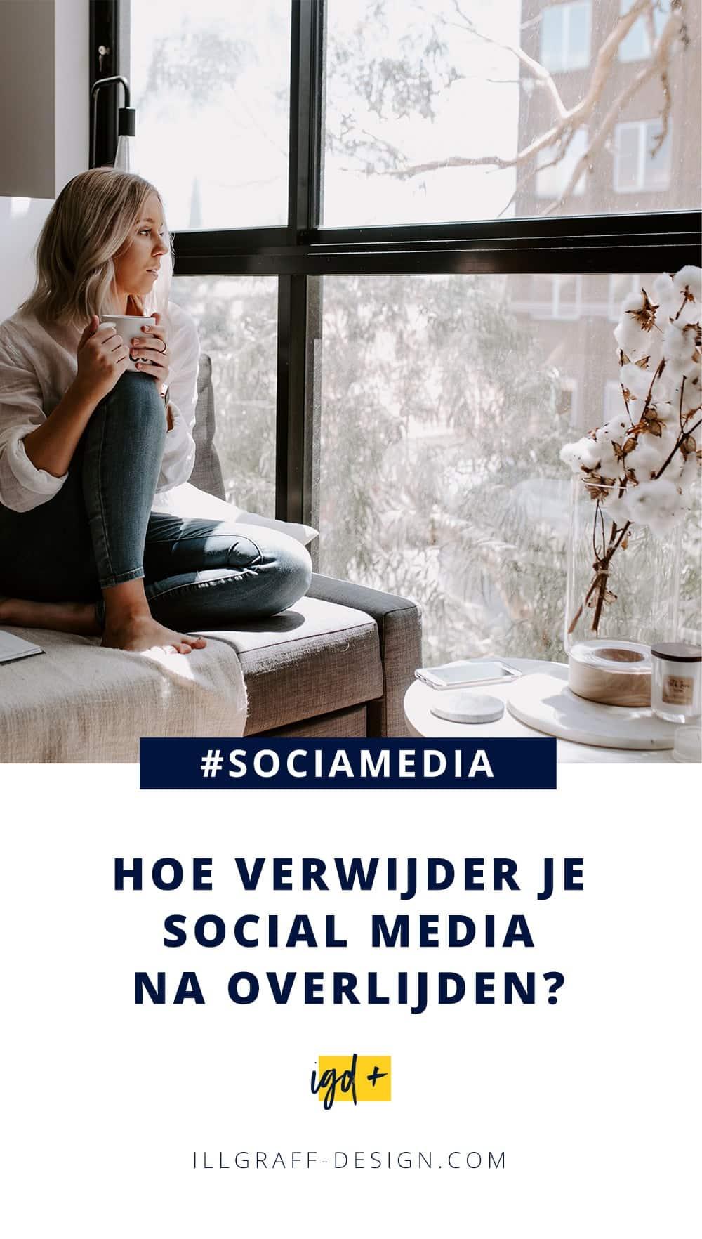 Social media, Internet en overlijden