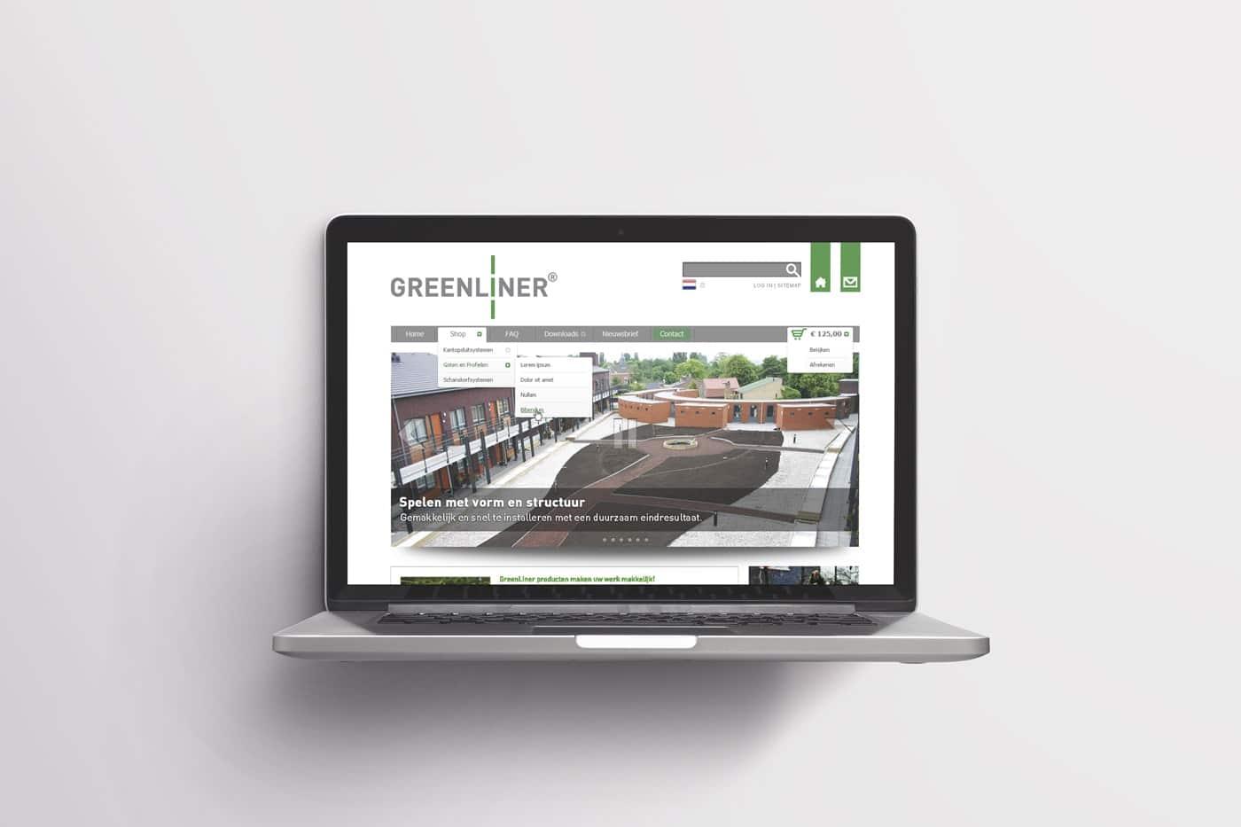 Ontwerp Magento webshop voor bedrijf in duurzaam bouwen