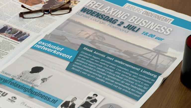Limburg Onderneemt Relaxing Business Event