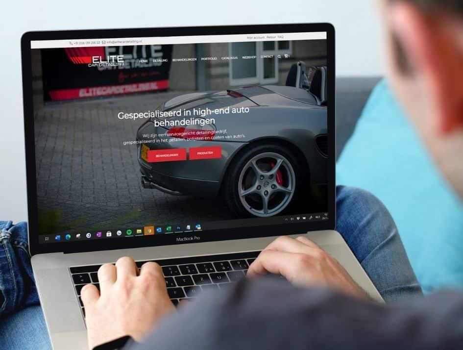 Automotive webshop voor car detailer
