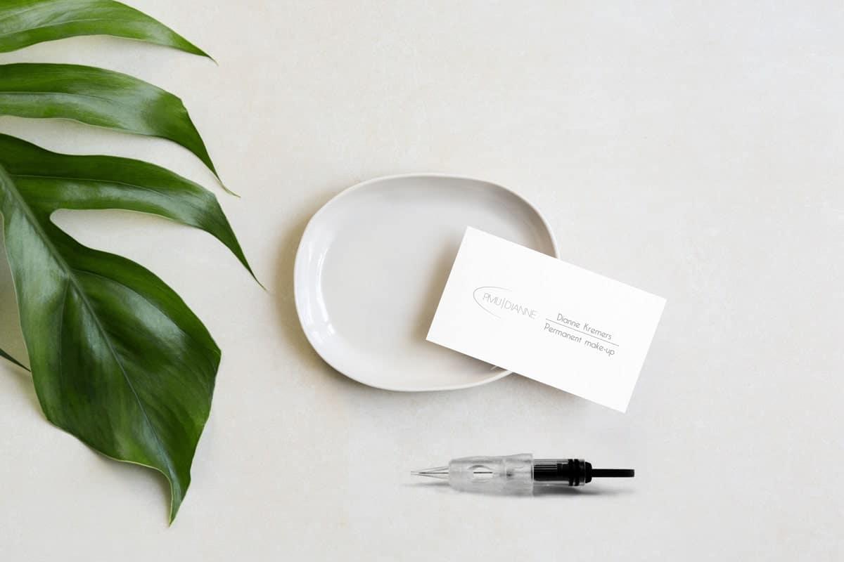 Beeldmerk en Logo ontwerp voor PMU Expert (permanent make-up)