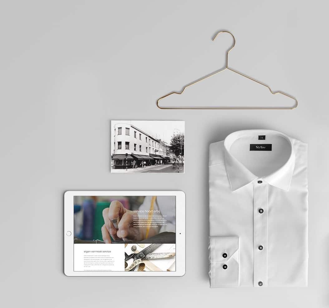 Website laten maken voor kledingwinkel in herenmode