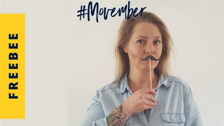 Movember, maand van de snor - help je mee geld in te zamelen?