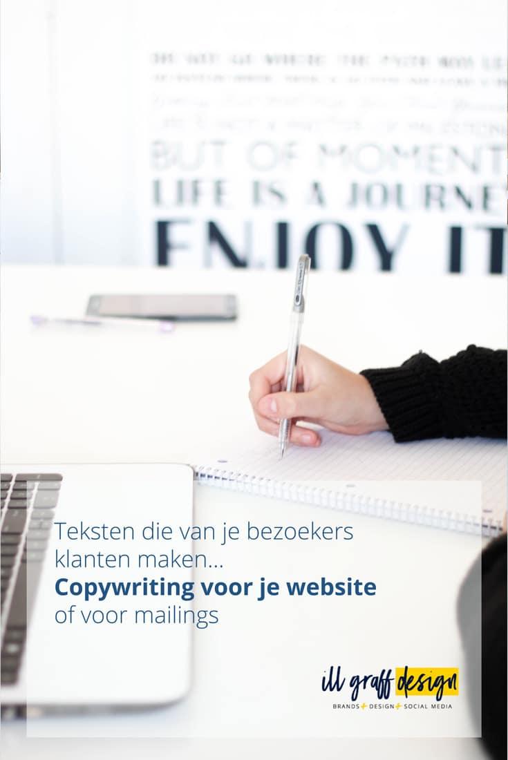 Copywriting voor je website of mailing