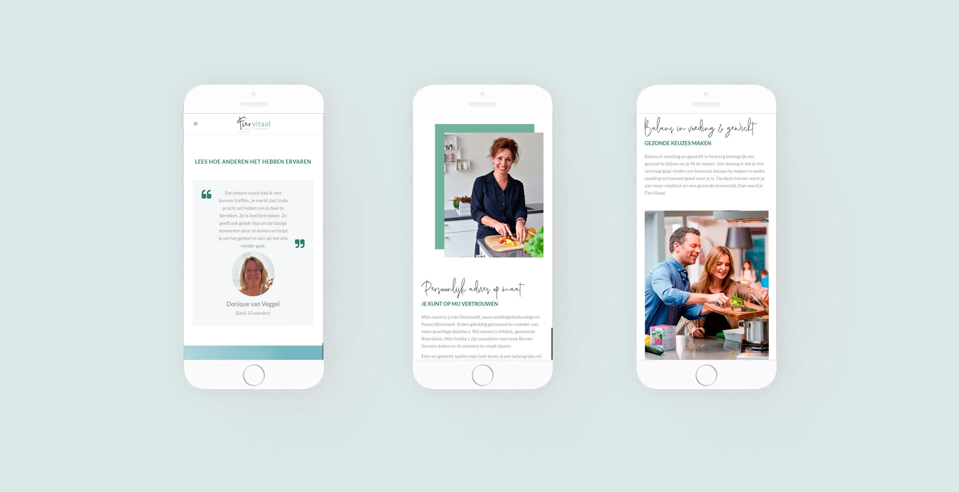 Responsive webdesign in huisstijl
