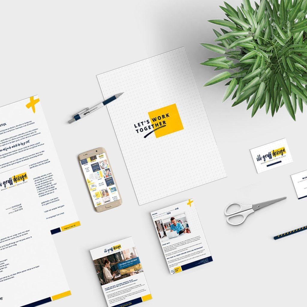 Brand design studio voor een uniek huisstijl ontwerp voor je merk