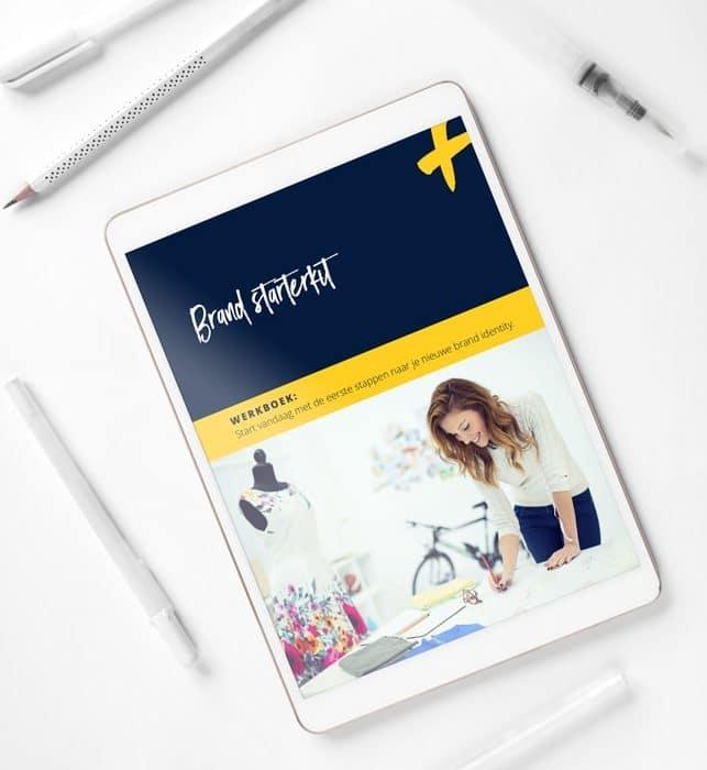 Branding starterkit werkboek voor een ijzersterke merkstrategie