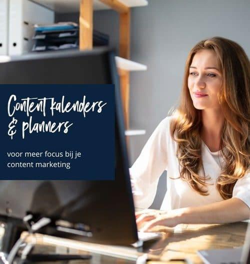 Contentkalender en planners voor effectieve content creatie